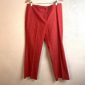 etcetera Size 10 Red Dress Pants
